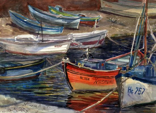 Лодка Христина